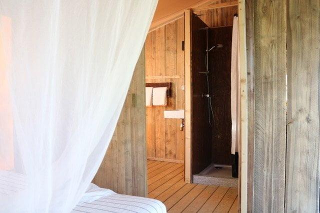 Tenuta il Castelletto|Canvaslodge|Badkamer