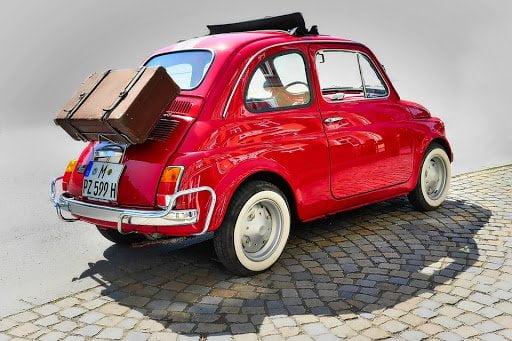 Fiat 500 autoreis