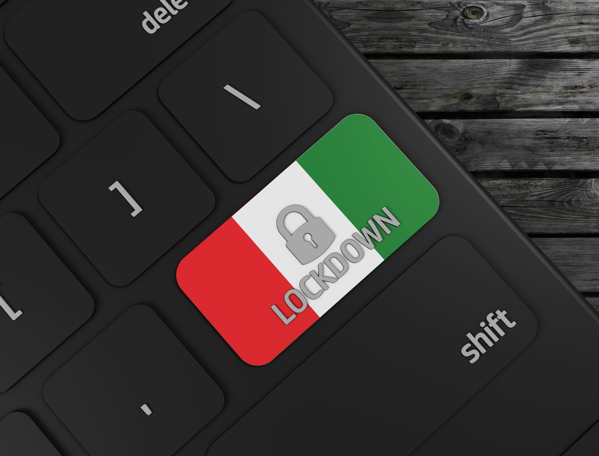 lockdown Italië